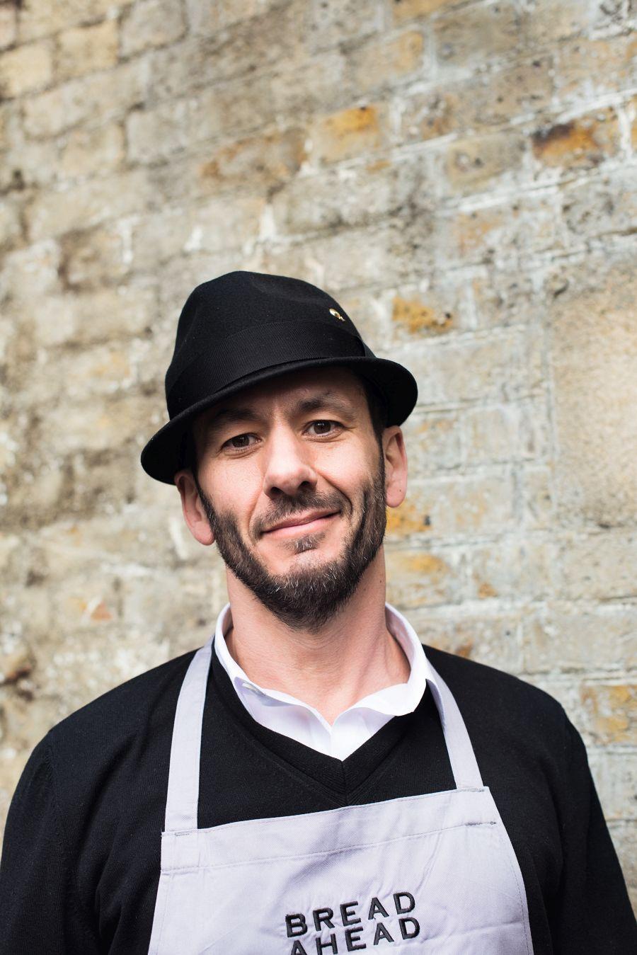 Matthew Jones at Bread Ahead © Issy Croker for The Borough Market Cookbook, Hodder & Stoughton, £25