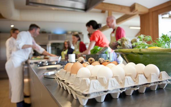 Thyme's cookery school
