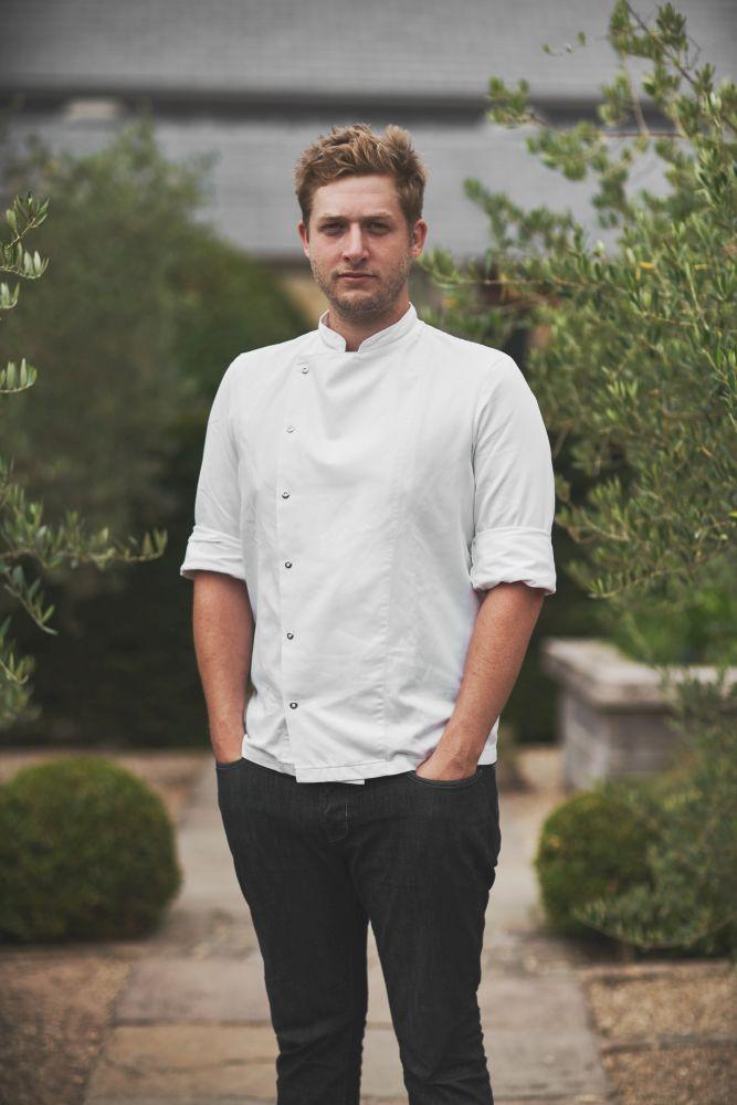 Head chef Charlie Hibbert
