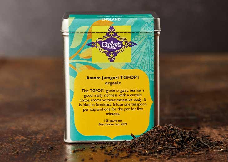 Assam Jamguri Organic TGFOP1