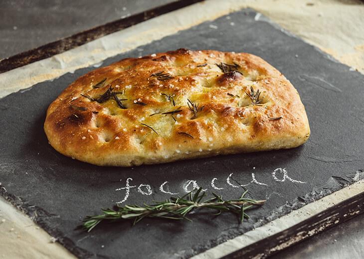 Bread Rosemary & Seasalt Focaccia