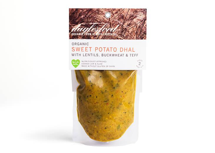 Ancient Grain & Sweet Potato Dhal