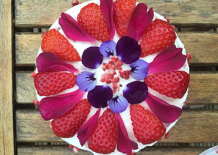 English Summer Cake