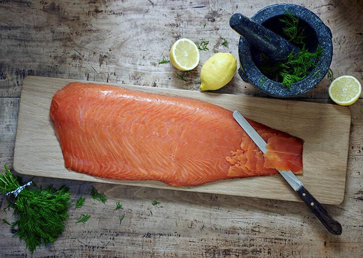 Sliced Side Smoked Salmon