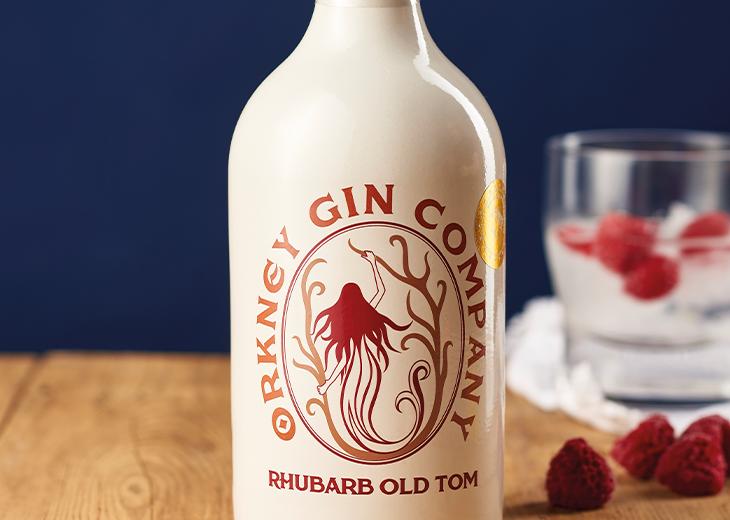 Orkney gin Company Rhubarb Old Tom