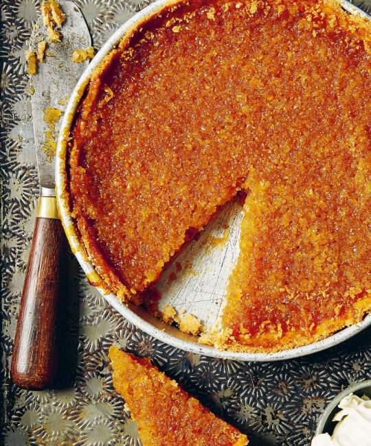 Leftover Sourdough Treacle Tart Great British Food Awards